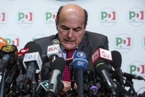 PD - Conferenza stampa di Bersani e Letta